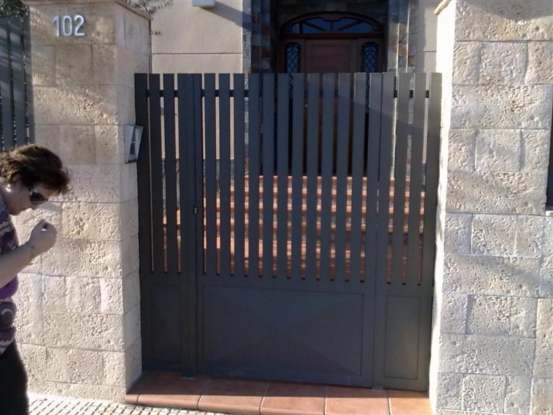 hierro puertas y cancelas cancela de hierro